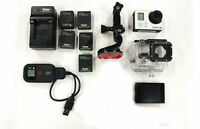 GoPro Hero 3 Silver Edition with digital back Camcorder kit