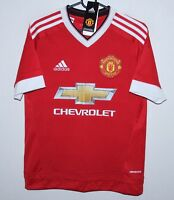 Manchester United England home shirt 15/16 Adidas BNWT - KIDS Size L