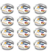 24 Vaschette CUKI in Alluminio Doppia Forza tonda da 10 porzioni NUOVE