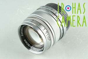 Konishiroku Hexanon 50mm F/1.9 Lens for Leica L39 #34305 C1