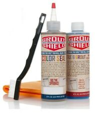 Ceramic Tile Grout Sealer ~ 2 Bottle Kit~ New ~ any color in the world our seal