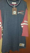 NWT Mitchell and Ness St Louis Cardinals Vintage Retro Shirt Sewn Patch Mens 4x