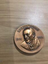 Enrico Fermi Italiana In America 1901-1954 Medallion Coin With Paper