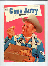Dell GENE AUTRY #62 April 1952 vintage western comic