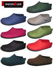 Haflinger Smily 311013 Unisex - erwachsene Pantoffel schwarz (schwarz 3) EU 43