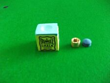 8.5mm Snooker/Pool cue Brass Ferrule with Elkmaster Tip and Triangle Chalk