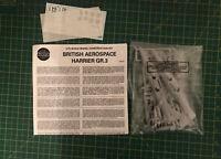 Airfix 1/72 Harrier GR3  Model Kit  Bagged Bargain Corner Unboxed RAF Cold War