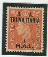 G.B. Offices - Tripolitania Stamps #27 Used,VF (X5832N)