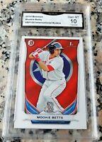 MOOKIE BETTS 2014 Bowman International SP Rookie Card RC GEM MINT 10 Dodgers $$$