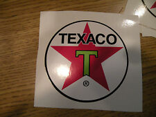 "#326 (1) 4"" Texaco Racing superbike motorcycle decal sticker vinyl CBR CBX HRC"