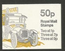 Great Britain 1978 50p Machin definitive booklet--Attractive Topical (BK230) MNH
