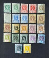 Gambia, 1912, 22 stamps from set, M/M