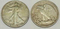 1 pièce de 1/2 de Dollar en Argent 1940 S -  USA ( 027 )
