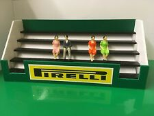 1:32 Scale Pirelli Goodwood 60s style Grandstand Scalextric Carrera SCX Building