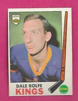 1969-70 OPC # 100 KINGS DALE ROLFE NRMT CARD (INV# C3664)