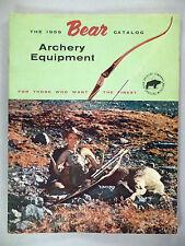 Fred Bear Archery CATALOG - 1959 ~~ nice condition