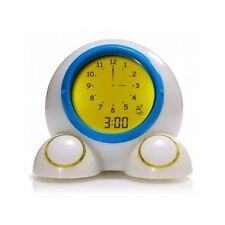 Kids Alarm Clock Night Light Children Bedroom Home Decor Interactive Educational