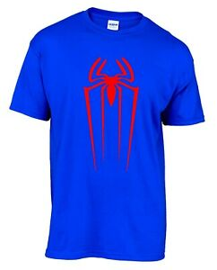 Spiderman Superhero Comic Mens T-shirt