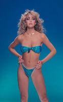 Heather Thomas Blue Bikini 8x10 Photo Print