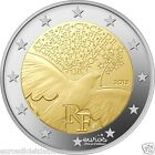 Pièce 2 euros commémorative FRANCE 2015 - 70 ans de Paix en Europe - UNC - Neuve