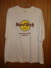 HARD ROCK CAFE NIAGARA FALLS CANADA White T Shirt 2XL FC156