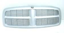 DODGE RAM SERIES 3 02-05 - NEW GENUINE SILVER GRILLE, CHROME INSERTS  (PARTS)