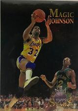 1996 Topps Stars Finest #22 Magic Johnson