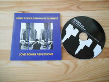CD Jazz Henri Texier Red Route - Love Songs Reflex (12 Song) Promo LABEL BLEU
