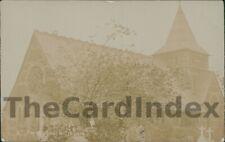 IRLAM St. John the Baptist Church Postcard nr Salford LANCASHIRE Anon