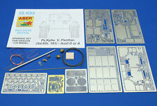 1/35 ABER 35K02 UPGRATE SET for GERMAN PANTHER Ausf. D or A  for DRAGON  Kits