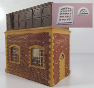 Hornby Water Tower ,  3 D printed  REPLACEMENT  Windows