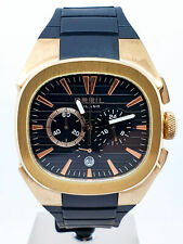Orologio Cronografo BREIL Eros BW0309 acciaio placcato oro uomo quarzo