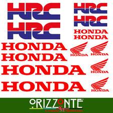Kit adesivi Honda HRC ( 14 Pezzi ) - 13 x 16 cm Moto Stickers