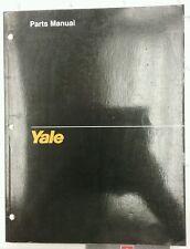 Yale Parts Manual for Models ERC 040-060 RA/ZA (1513, 8/91).