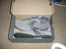 Da Uomo Timberland a19gh Brooklyn PARK Ortholite leather suede shoes size 6.5. NUOVO