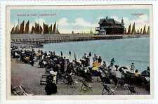 (La5262-176) The Sands & Pier, LOWESTOFT,  Unused c1910 VG