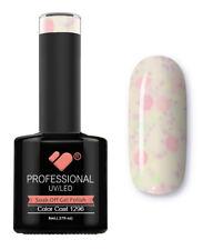 1296 VB Line Yogurt Snow White Neon Glitter - gel nail polish- super gel polish!