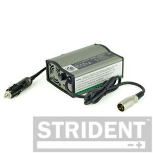 Strident - Mobility In Car Smart Mobility Scooter Charger 12v to 24v, 1.5A