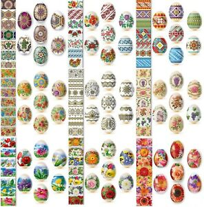 Thermo Heat Shrink Sleeve Decoration Easter Egg Wraps Pysanka Pysanky Pisanki