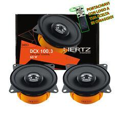 Hertz DCX 100.3 Linea Dieci Coppia Casse 60w Anteriori Per Fiat Doblo