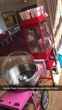 Popcorn & Candy Floss Machine HIre Manned with Attendant London