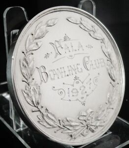 "Silver Medal Cased "" Fala Bowling Club, William James Dingley, Birmingham 1925"