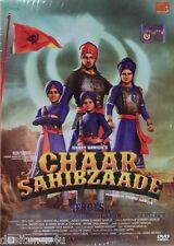 CHAAR SAHIBZAADE - ORIGINAL PUNJABI DVD - FREE POST