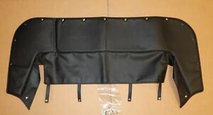 New Black Convertible Top Cover 1/2 Tonneau Cover MG Midget 1969-80 Made in UK