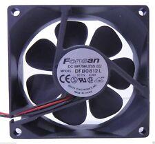 Fonsan DFB0812L 80mm Case Brushless Fan - 2 wire DC12V - 0.08A