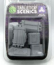TTCombat SFURA003 Cargo Accessories (Sci-Fi Utopia) Terrain Crates Containers