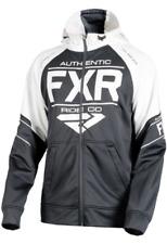 FXR RIDE TECH HOODIE BLACK/WHITE Free Shipping!!!!!