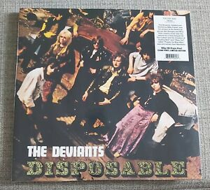 THE DEVIANTS-DISPOSABLE-BRAND NEW & SEALED 180 GRAM RE-ISSUE CLEAR VINYL LP-2018