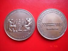 médaille 40 ème anniversaire traité franco-allemand