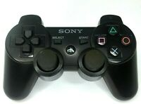 Sony PS3 Wireless Dualshock 3 Controller Black Official Genuine OEM CECHZC2U